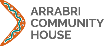 arrabri community house logo stacked large